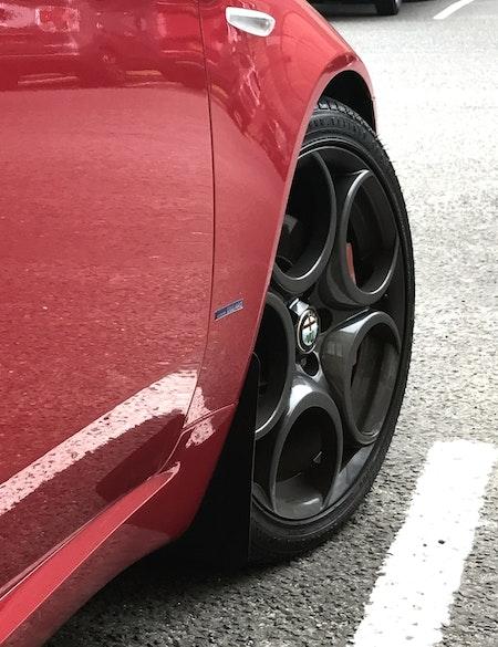 Alfa Romeo Brera stänkskydd