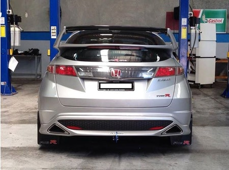 Honda Civic Type-R Stänklappar  2007-2014