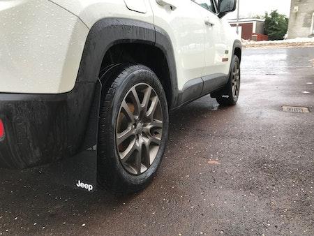 Jeep med jeep stänkskydd