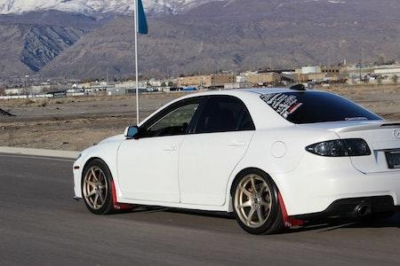 Mazda 6 Stänklappar
