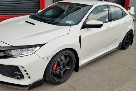 Honda Civic Type-R skvettlapper 2017-2019