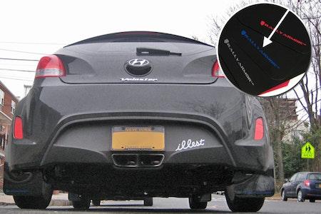 Hyundai Veloster Stänklappar
