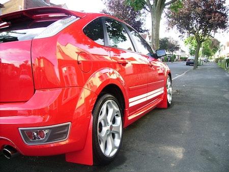 Ford Focus RS  Mk2 Stänklappar  2009 - 2011