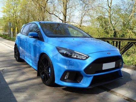 nitrous blue focus rs med stänkskydd