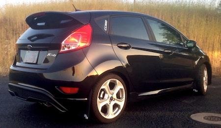 Ford Fiesta ST180 MK7.5 Stänklappar  2013+