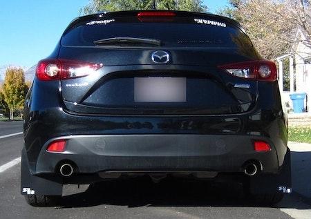 Mazda 3 stänkskydd