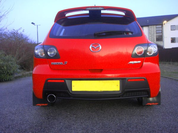 Mazda 3 Stänklappar  2009 - 2014