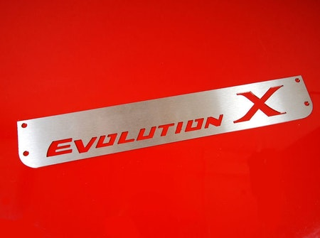 Mitsubishi Evo 10 Stänklappar