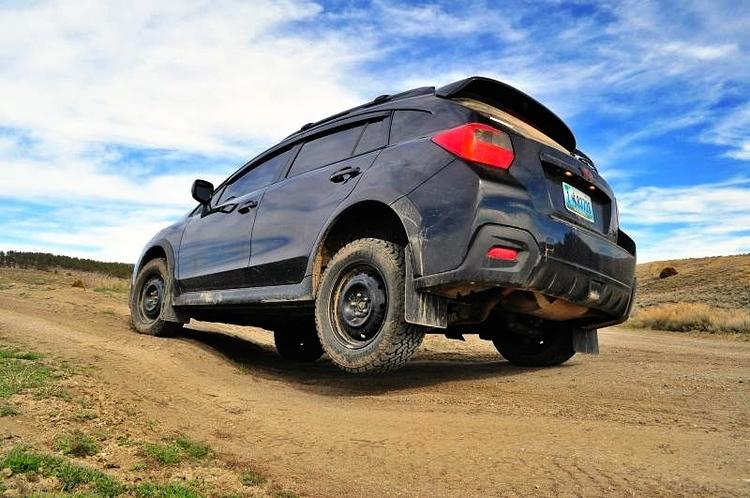 Subaru XV Stänkskydd 2013-2017