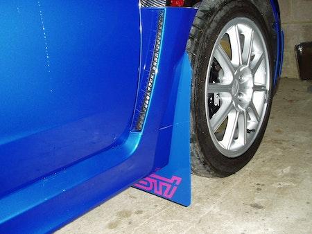 Subaru Impreza Hatchback Stänklappar  2008 - 2014