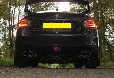 Subaru wrx sti stänkskydd