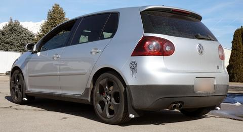Volkswagen Golf Mk5 Stänklappar  2004 - 2009