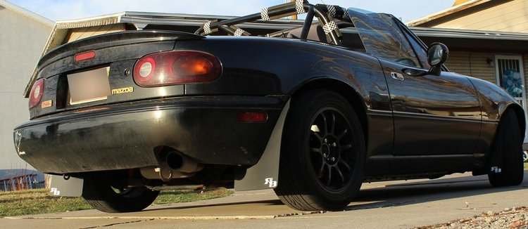Mazda Miata MX5 Stänklappar  1990 - 1997