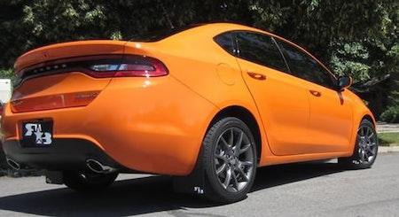 Dodge Dart Rallye Stänkskydd