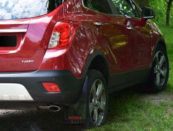 Opel Mokka skvettlapper 2012+