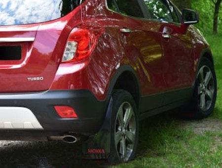 Opel Mokka stänkskydd på bilen