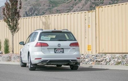 Volkswagen Golf Alltrack tillbehör, större stänkskydd