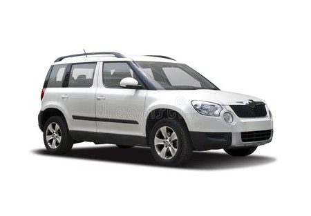 Skoda Yeti skvettlapper -  Pre-facelifted