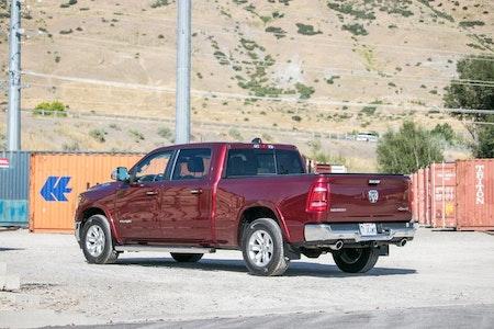 Stänkskydd till nya Dodge ram