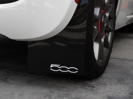Fiat 500 dekal på stänkskydd