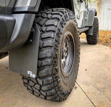 Jeep Gladiator Stänkskydd