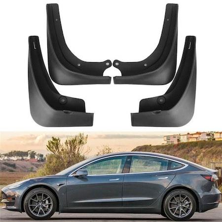 Tesla, med eller utan stänkskydd