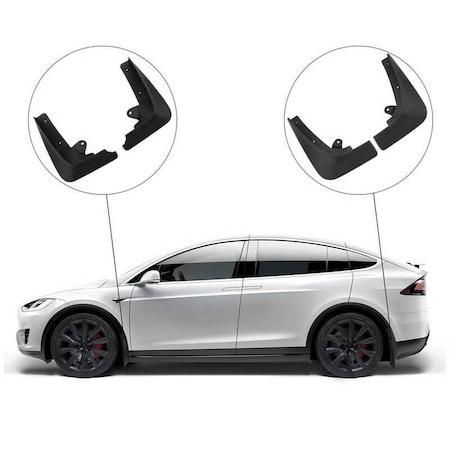 Hur ser det ut med stänkskydd på en Tesla