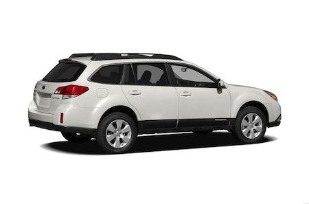 Subaru Outback 2013 med stänklappar