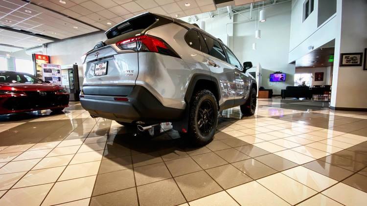 Toyota Rav4 Skvettlapper 2019+