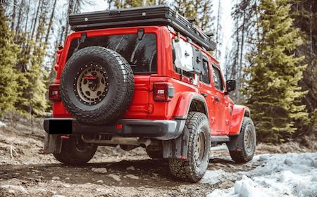 Jeep wrangler offroad tillbehör stänkskydd