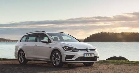 """Volkswagen Golf-R  """"Sportscombi"""" Stänklappar  2015+"""