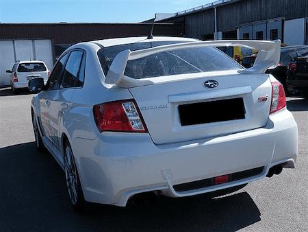 Rally stänkskydd till Subaru Sti Racing