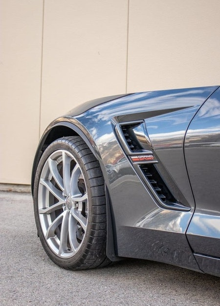 Chevrolet Corvette C7 Stänkskydd