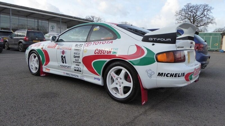 Toyota Celica GT-Four Stänklappar