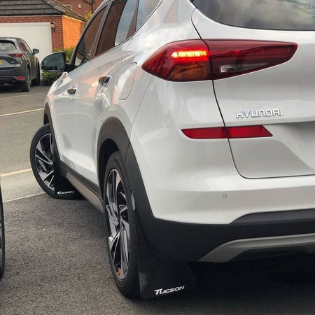 Hyundai Tucson skvettlapper