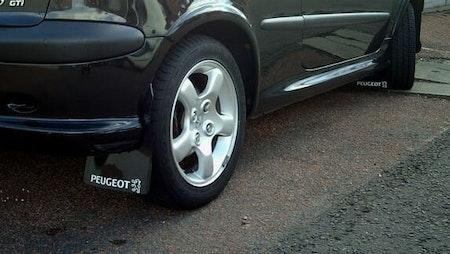 Peugeot dekal med lejon till peugeot 207
