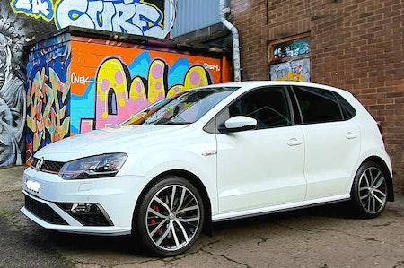 Volkswagen Polo eftermarknads stänkskydd