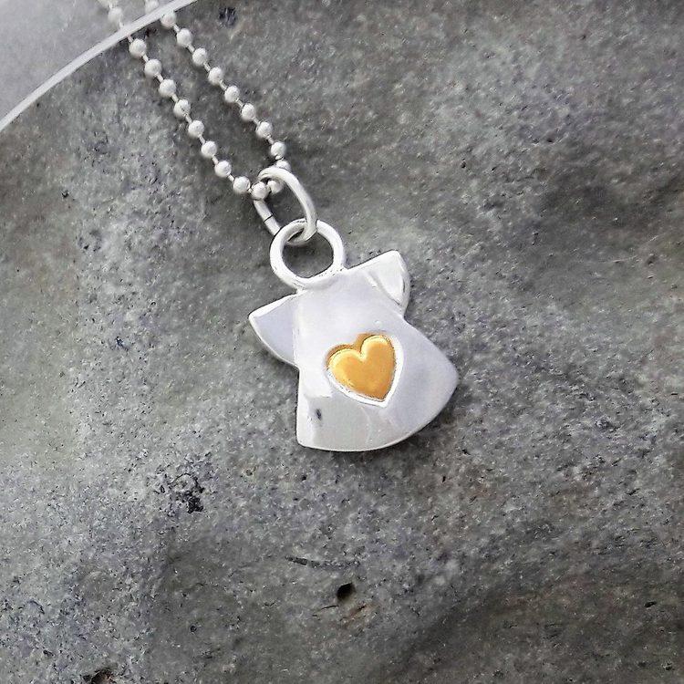 Ängel med Hjärta av Guld