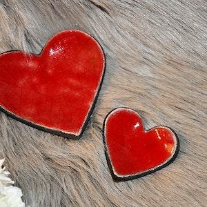 Keramik hjärtan
