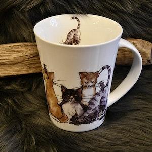 Mugg med Katt