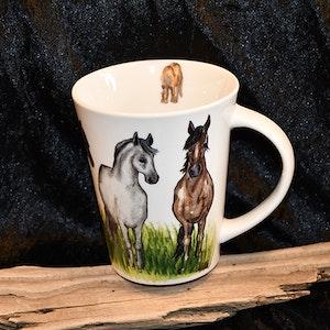 Mugg med Häst