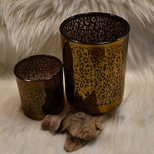 Glaslykta Leopard set