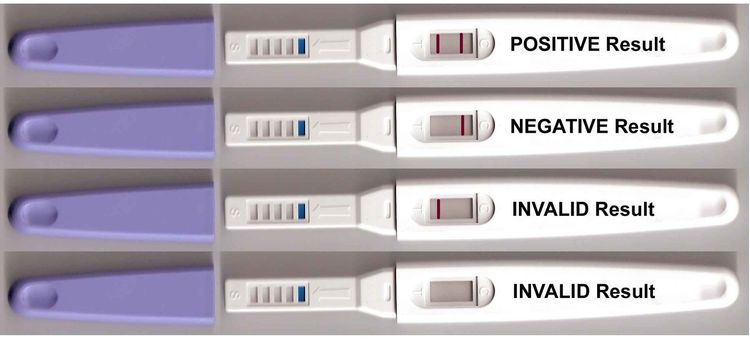 One step tidigt graviditetstest stav  - 3 st (FRI FRAKT)