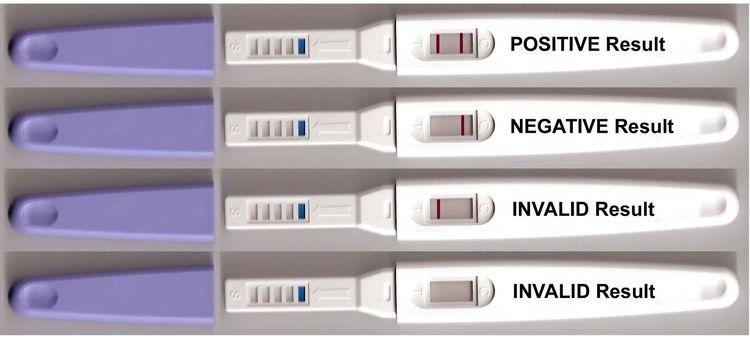 One step tidigt graviditetstest stav  - 5 st (FRI FRAKT)