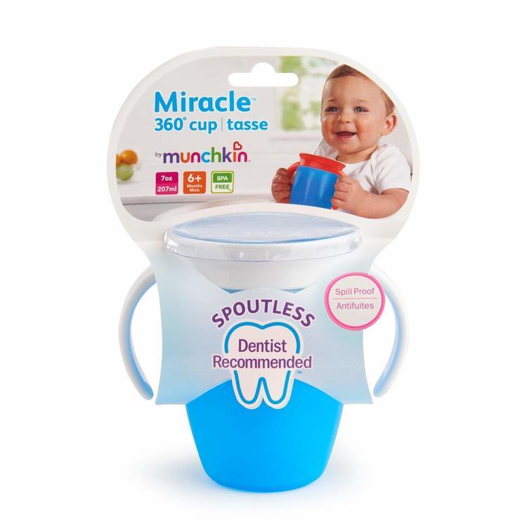 Munchkin Miracle mugg blå