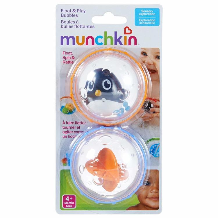 Munchkin badleksak bubblor 2pack