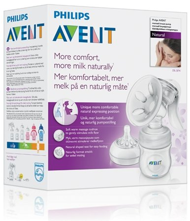 Philips Avent Bröstpump Manuell Natural