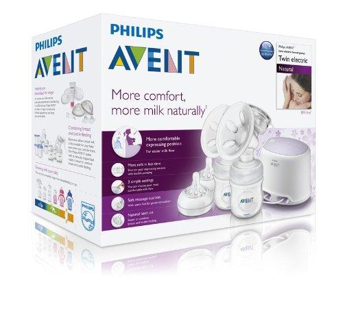 Philips Avent Dubbel Elektrisk Bröstpump V2