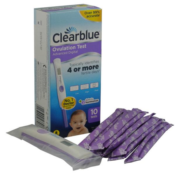 Clearblue digitalt ägglossningstest med dubbel hormonindikator