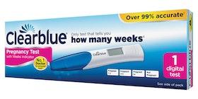 Clearblue digitalt graviditetstest med veckoindikator